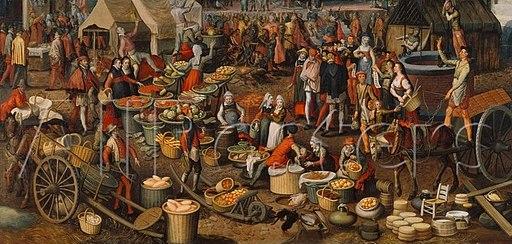 Aertsen, Pieter - Market Scene