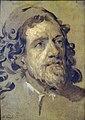 Agen - Musée des beaux-arts - Antoine Van Dyck - Esquisse pour le portrait d'Inigo Jones -1.JPG