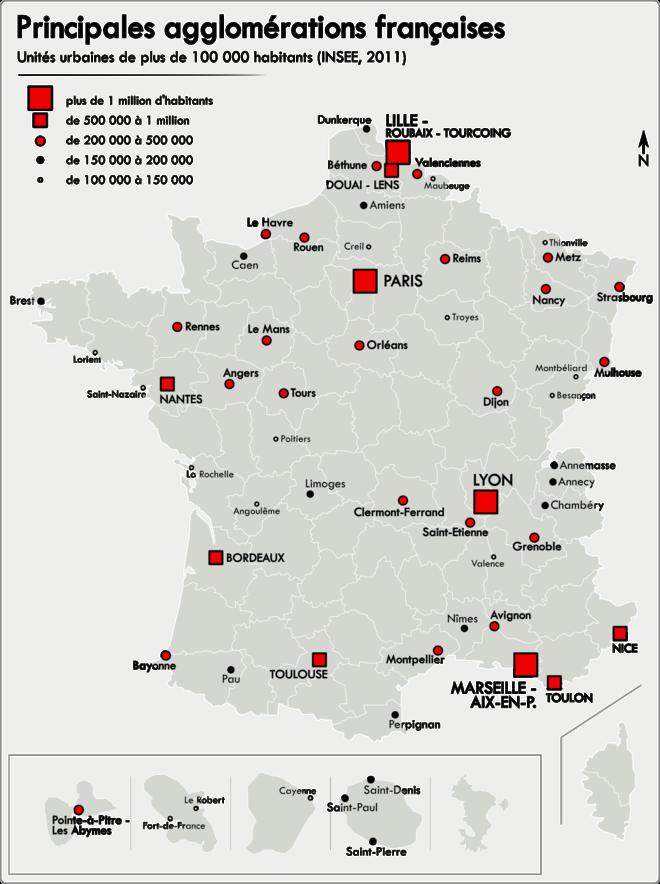Quelle Ville A  Km De Paris