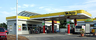 Agip - Image: Agip Tankstelle