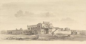 Ahmadnagar Sultanate - Image: Ahmednagar fort 2