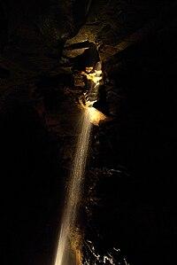 Aillwee cave waterfall.jpg