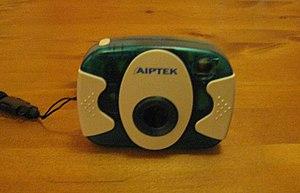 English: Aiptek web camera/digital compact cam...