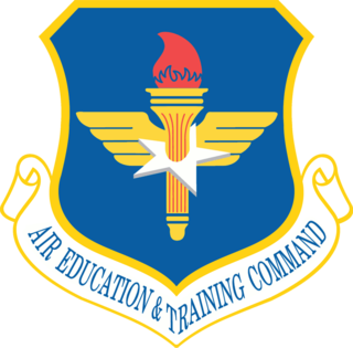 Air Education and Training Command Major command of the United States Air Force responsible for military training and education