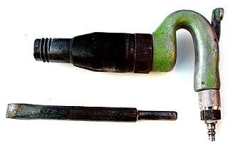 Air hammer (fabrication) - Image: Air hammer FK702a