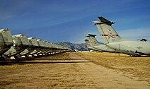 Aircraft tails at Davis-Monthan.jpg