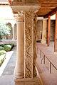 Aix cathedral cloister column detail 08.jpg