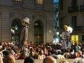 Ajuntament - Arribada de la xambanga de gegants P1160551.JPG