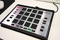 Akai MPC Element - angled right - 2014 NAMM Show (by Matt Vanacoro).jpg