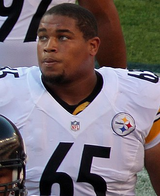 Al Woods (American football) - Woods with the Steelers in 2012