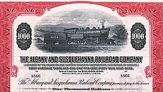 Albany and Susquehanna Railroad