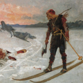 Albert Edelfelt - Bishop Henry killed by Lalli cropped.png