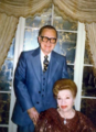 Albert K Bender and Wife.png