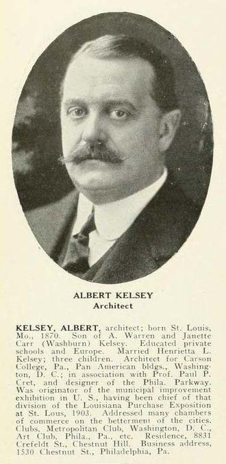 Albert Kelsey - Albert Kelsey, Architect. Who's Who in Philadelphia, 1920.