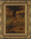 Albert Pinkham Ryder - A Stag and Two Does - 2014.67.2 - Smithsonian American Art Museum.jpg