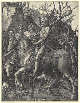 Albrecht Dürer - Knight, Death and Devil (NGA 1943.3.3519)
