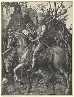 Albrecht Dürer - Knight, Death and Devil (NGA 1943.3.3519).jpg