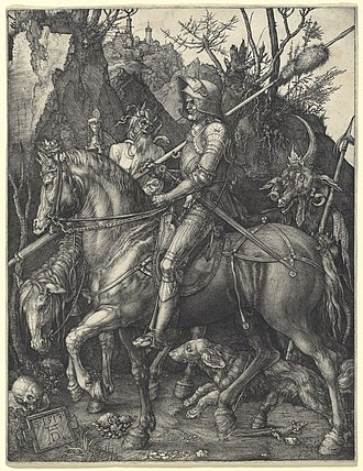Knight, Death and the Devil - Knight, Death and the Devil, 1513, engraving, 24.5 x 19.1 cm