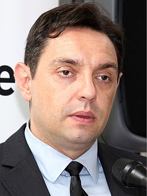 Ministry of Defence (Serbia) - Aleksandar Vulin, the current Minister of Defence of Serbia.