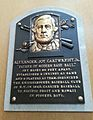 Alexander Cartwright HOF plaque.jpg