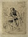 Alexander Dickson. Etching by W. Hole, 1884. Wellcome V0001575.jpg