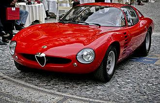 Alfa Romeo Canguro - Image: Alfa Romeo Canguro Left Front 3 Quarter