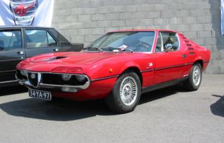 Alfa Romeo Montreal car model