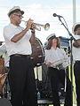 Algiers RiverFest 2012 Algiers Trumpet Snare.JPG