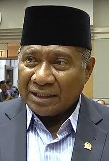 Ali Taher Indonesian politician