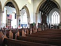 All Saints Church - nave and north aisle - geograph.org.uk - 1394936.jpg