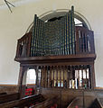 All Saints Church Farley, Wiltshire, England - organ.jpg