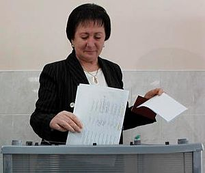 South Ossetian presidential election, 2011
