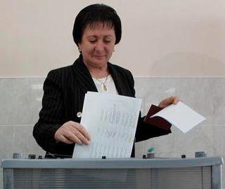 Alla Dzhioyeva South Ossetian teacher turned politician
