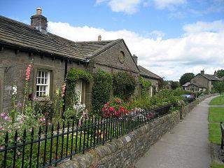 Thornton in Craven Village and civil parish in North Yorkshire, England