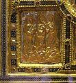 Altare di s. ambrogio, 824-859 ca., fronte dei maestri delle redentore tra apostoli e simboli evangelisti 06.jpg