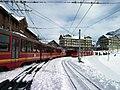 Am Bahnhof Kleine Scheidegg.jpg