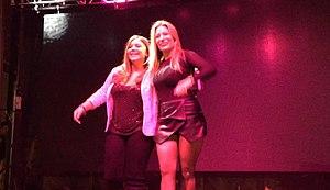 Amanda Ayala - Amanda Ayala performing with Taylor Dayne
