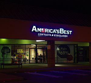 America's Best Contacts & Eyeglasses - A retail outlet in Hillsboro, Oregon