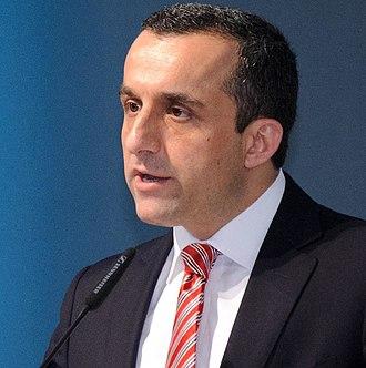 Amrullah Saleh - Amrullah Saleh speaking at an international conference in Berlin