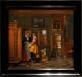Amsterdam - Rijksmuseum 1885 - The Gallery of Honour (1st Floor) - Interior with Women beside a Linen Cupboard 1663 by Pieter de Hooch.png