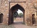 An entrance of firoz sha kotla fort.jpg