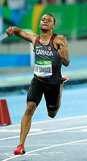 Andre De Grasse Canadian sprinter
