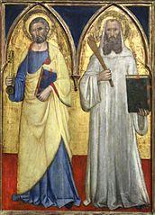 Saint Pierre et saint Benoît