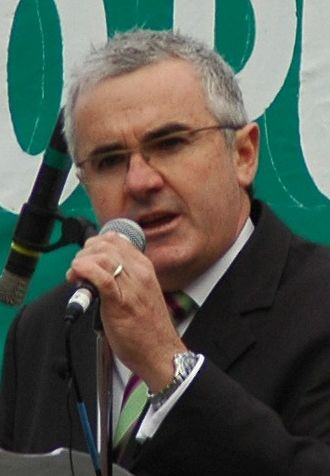 Andrew Wilkie - Andrew Wilkie speaking at anti-pulp mill rally in 2007