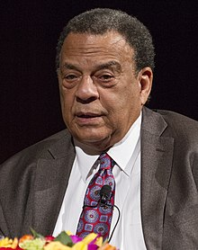 Andrew Young at the second annual Tom Johnson lecture DIG13465.jpg