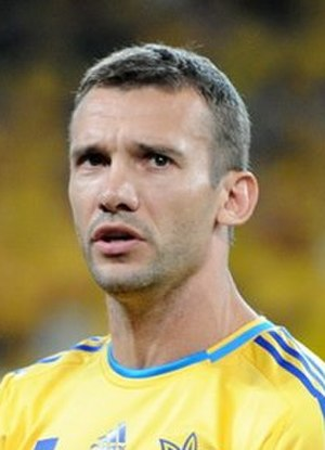 Ukraine national football team - Andriy Shevchenko is the top scorer in the history of Ukraine with 48 goals.