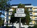 Angers, panneau rue Carl Linné.JPG