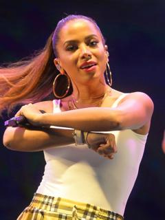 Anitta (singer) Brazilian singer, songwriter, television host and actress