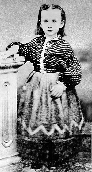 Grandma Moses - Anna Mary Robertson in the 1860s