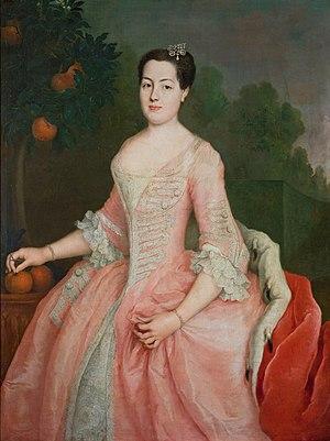 Anna Wilhelmine of Anhalt-Dessau - Princess Anna Wilhelmine of Anhalt-Dessau (1715-1780)